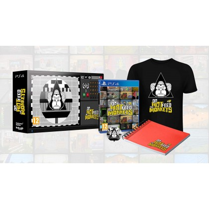 PS4 DO NOT FEED THE MONKEYS COLLECTOR EDITION - R2 ENGLISH
