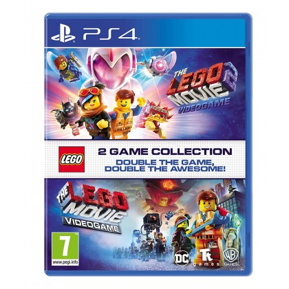 PS4 LEGO MOVIE 1 + MOVIE 2 COLLECTION - R2 ENGLISH