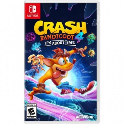 SWITCH CRASH BANDICOOT 4 IT'S ABOUT TIME [PRE ORDER 12/03/2021]