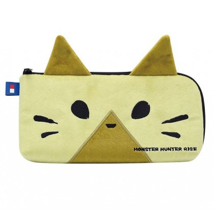 SWITCH HORI MONSTER HUNTER RISE HAND POUCH PALICO