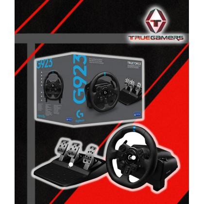 PS4 LOGITECH G923 DRIVING RACING WHEEL + SHIFTER