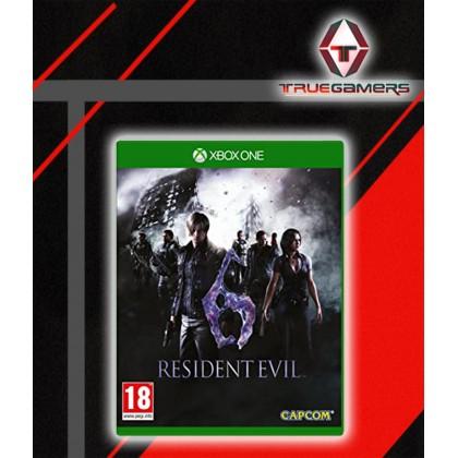 XBOX ONE RESIDENT EVIL 6 - ENGLISH