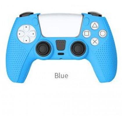 PS5 DOBE DUAL SENSE SILICON CASE BLUE COLOR - TP5-0541