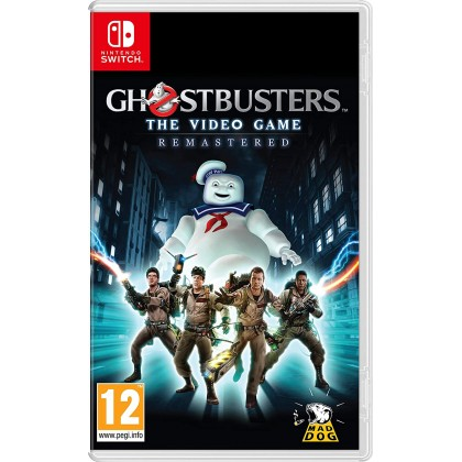 SWITCH GHOSTBUSTERS VIDEO GAME REMASTERED