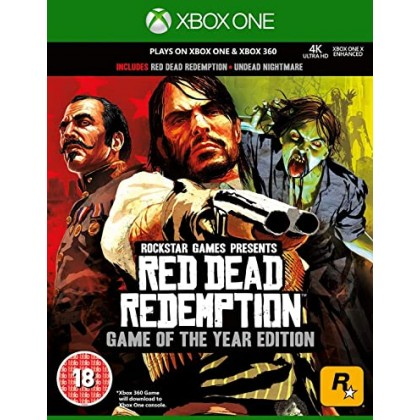 XBOX ONE RED DEAD REDEMPTION GAME OF THE YEAR