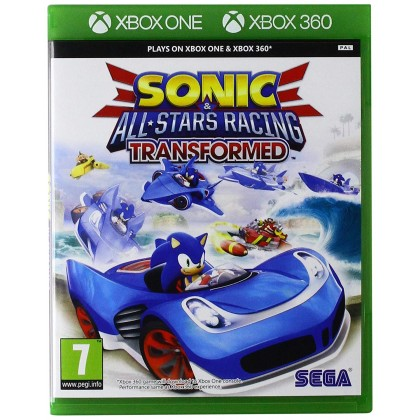 XBOX ONE SONIC AND ALL STAR RACING TRANSFORMED