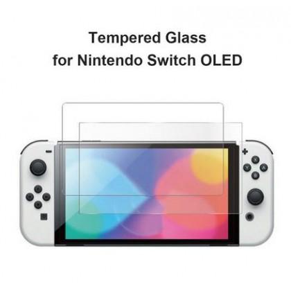 NINTENDO SWITCH OLED DOBE TEMPERED GLASS - TNS-1156