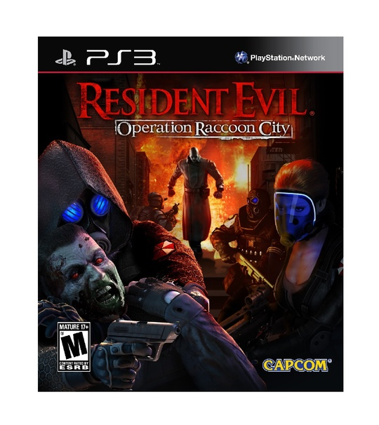 PS3 RESIDENT EVIL OPERATION RACCOON CITY R2