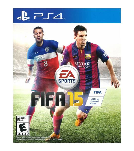 Ps4 Fifa 15 Standard Edition English - R2