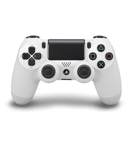 PS4 DUALSHOCK 4 WIRELESS CONTROLLER GLACIER WHITE 2.0
