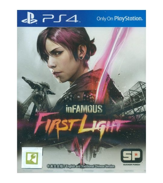 PS4 INFAMOUS FIRST LIGHT ALL ENG/CHINESE