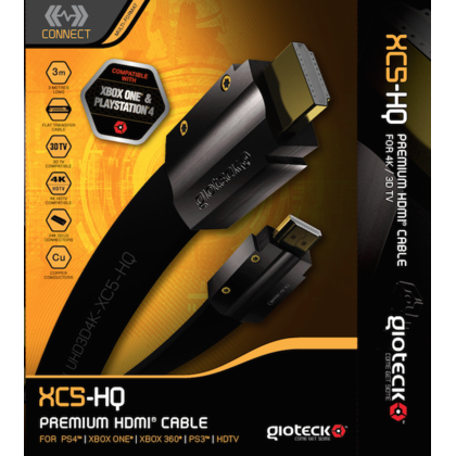 Gioteck Premium HDMI Cable XC5-HQ