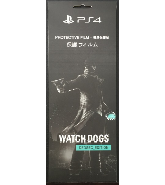 Ps4 WatchDogs DedSec Consoles Protective Film-Original