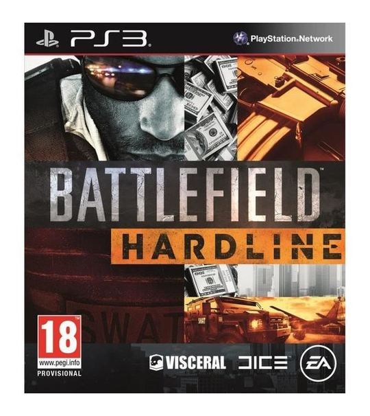 Ps3 Battlefield Hardline standard English R2
