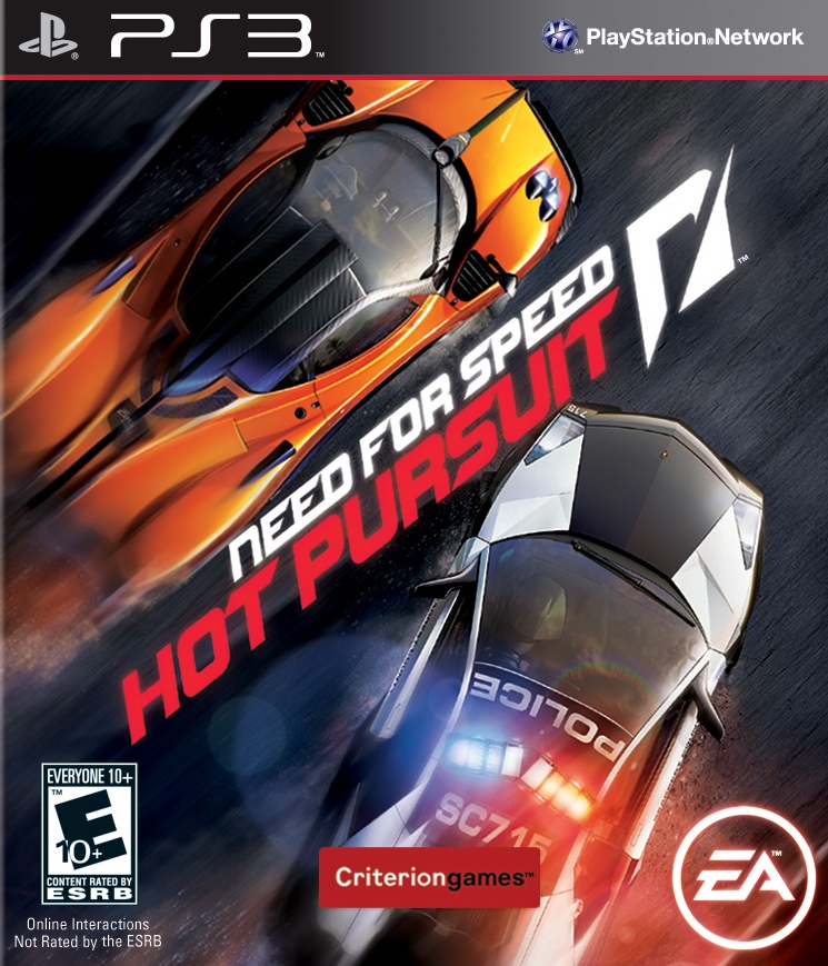 Kết quả hình ảnh cho Need For Speed - Hot Pursuit cover ps3