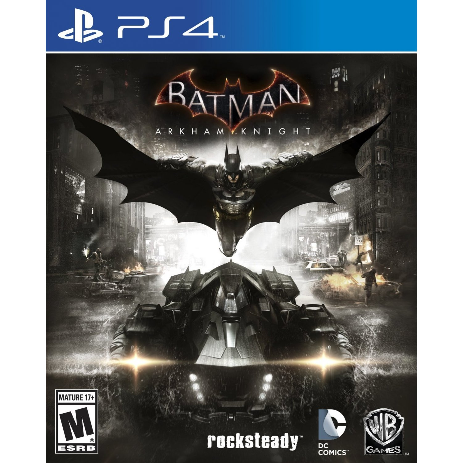 PS4 Batman Arkham Knight - R1/ALL