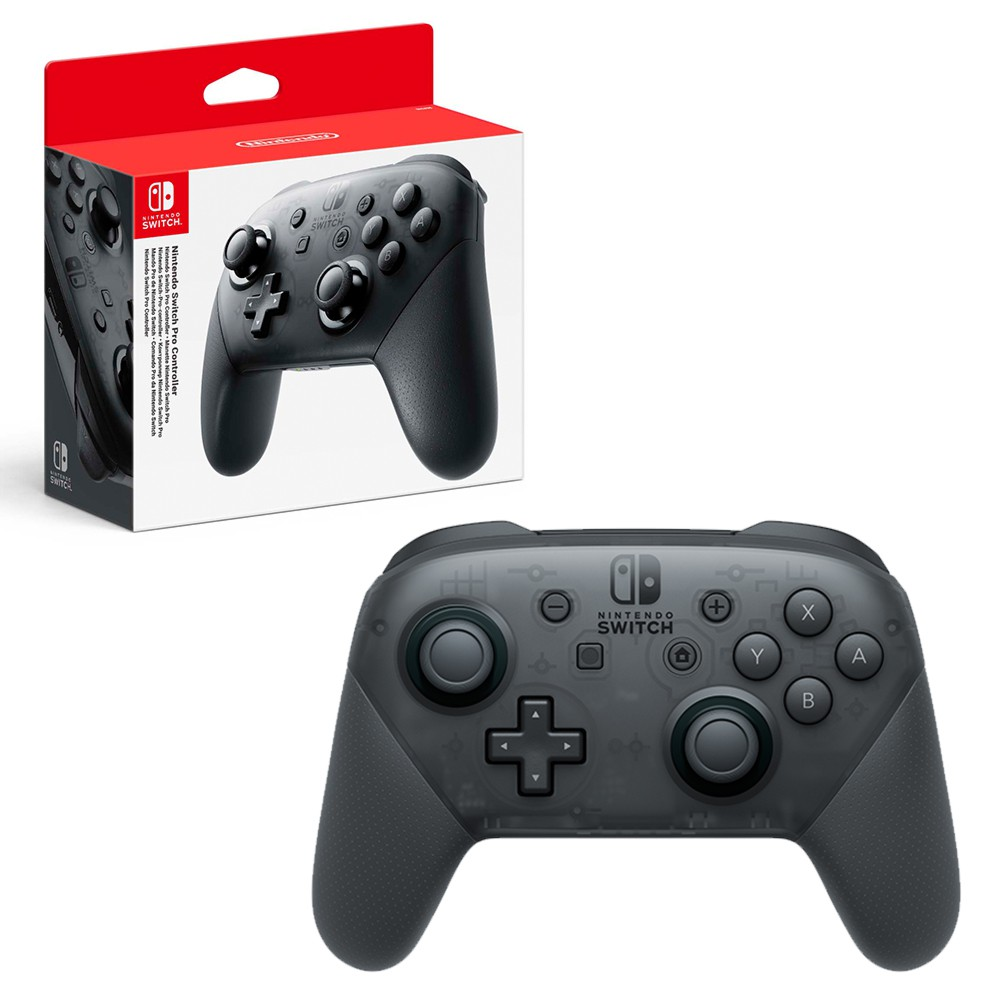 Nintendo Switch Pro Controller Grey Without Game