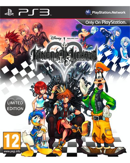 PS3 KINGDOM HEARTS-HD1.5 REMIX-R1/ALL