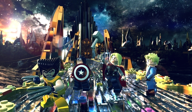 Ps4 LEGO Marvel Super Heroes - R2