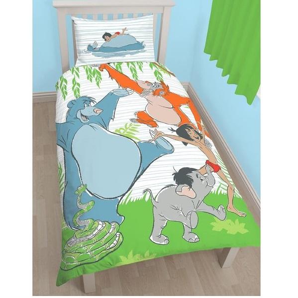 Jungle Book Mowgli Single Panel Duvet Cover Set