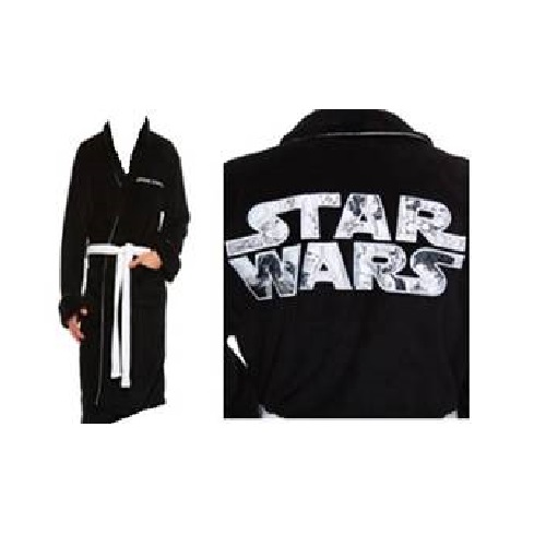 984a436f41 Star Wars - Fleece Robe - SW Logo - Adult One Size
