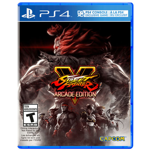 PS4 STREET FIGHTER V ARCADE EDITION - R2