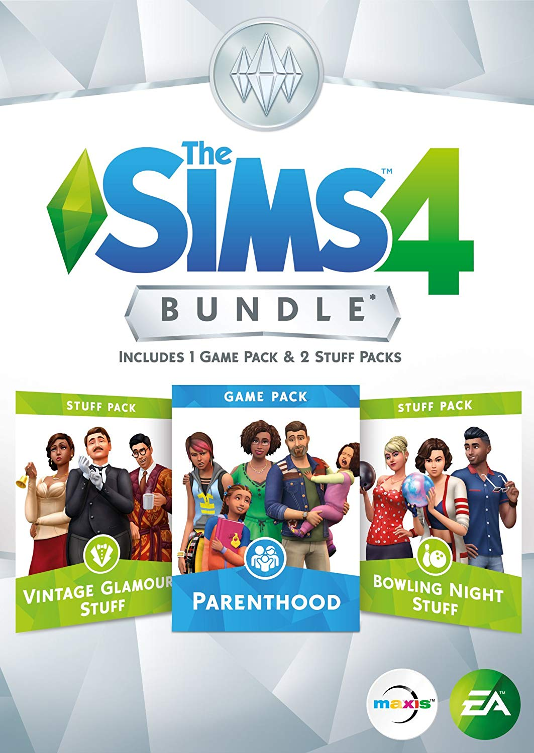 PC THE SIMS 4 BUNDLE PACK 9 PARENTHOOD (DIGITAL CODE ONLY)