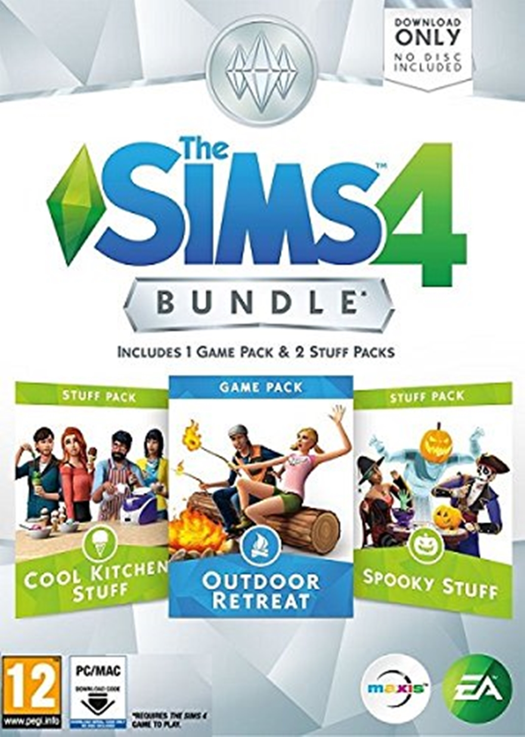 PC THE SIMS 4 BUNDLE PACK 2 OUTDOOR RETREAT (DIGITAL CODE ONLY)