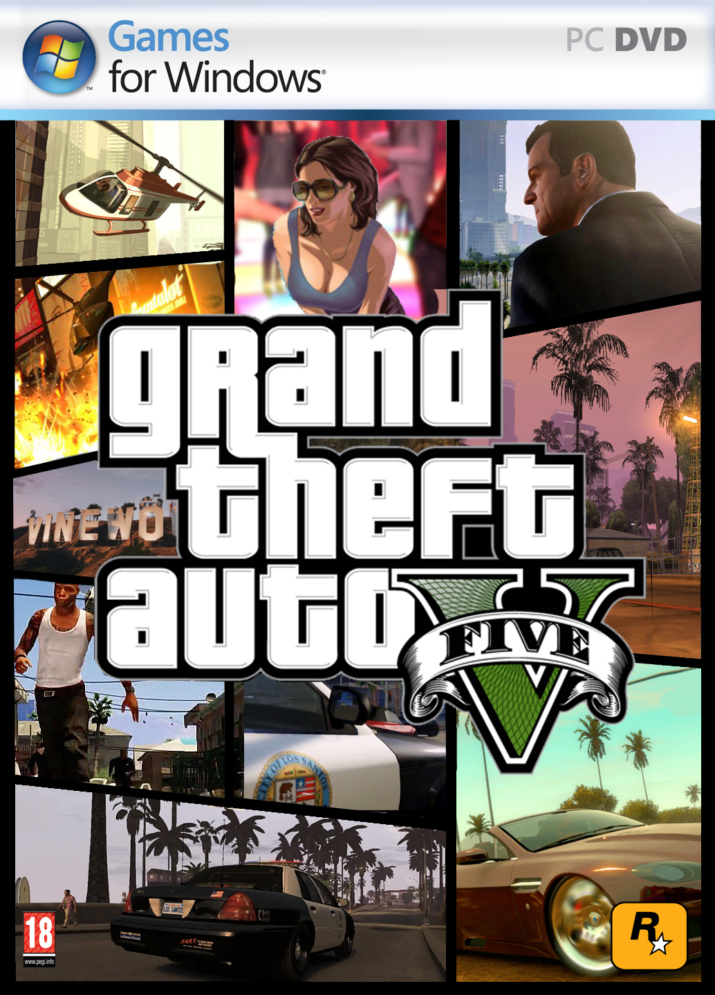 gta 5 for pc size
